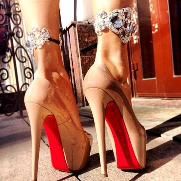 jewels christian louboutin hot topic ankle cuff accesories anklecuff