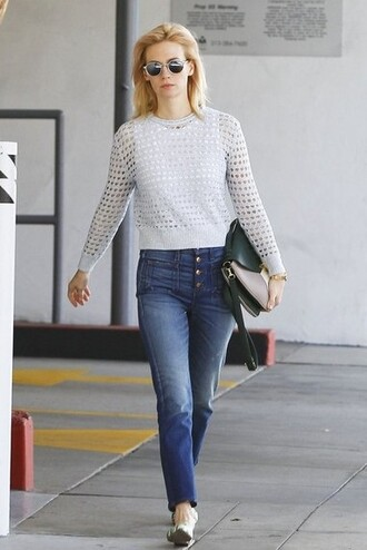 jeans denim january jones flats shoes spring outfits