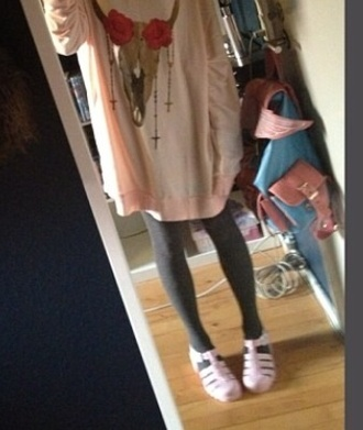 shoes white pastel kawaii sandals pink pale cute
