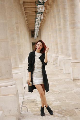 estelle blog mode blogger black coat