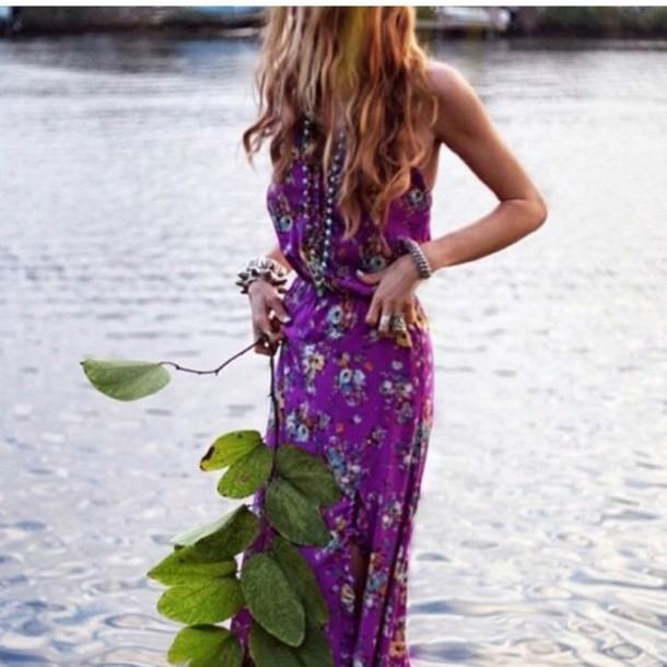 dress boho boho chic boho dress boho boheme style long dress