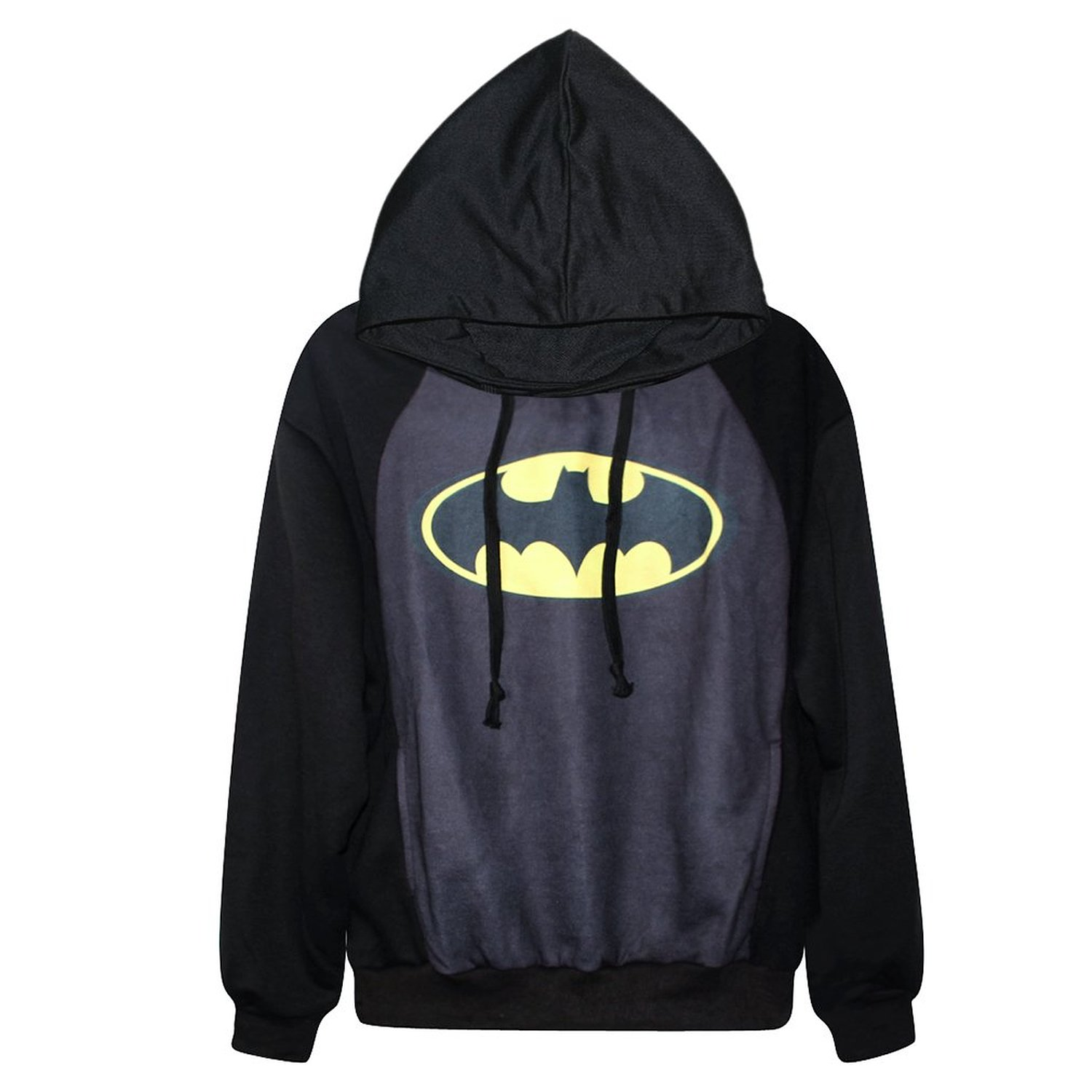 Fashion digital print long sleeve jacket lady coat (batman) at amazon women's clothing store: