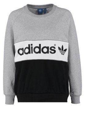 adidas originals city sweatshirt medium grey heather black. Black Bedroom Furniture Sets. Home Design Ideas