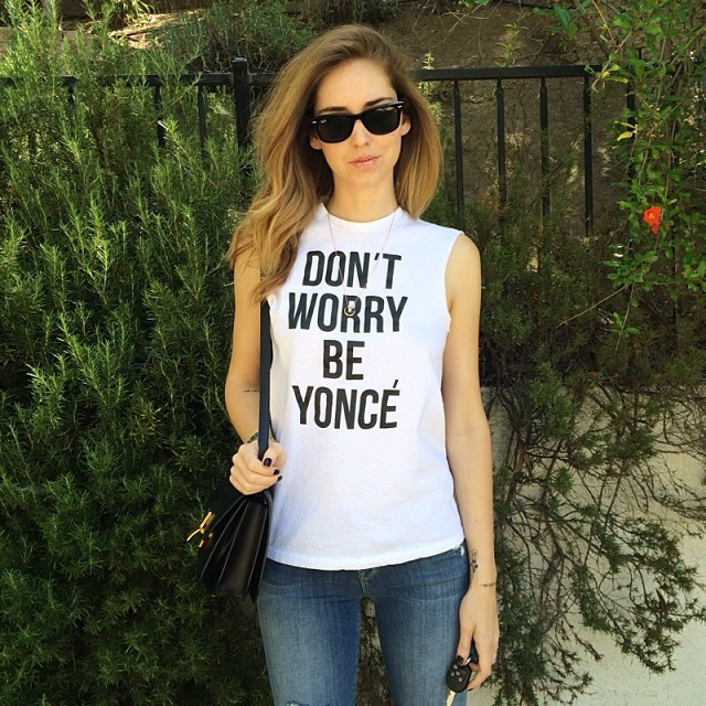 Don't Worry BE YONCE Print T-Shirt – Glamzelle