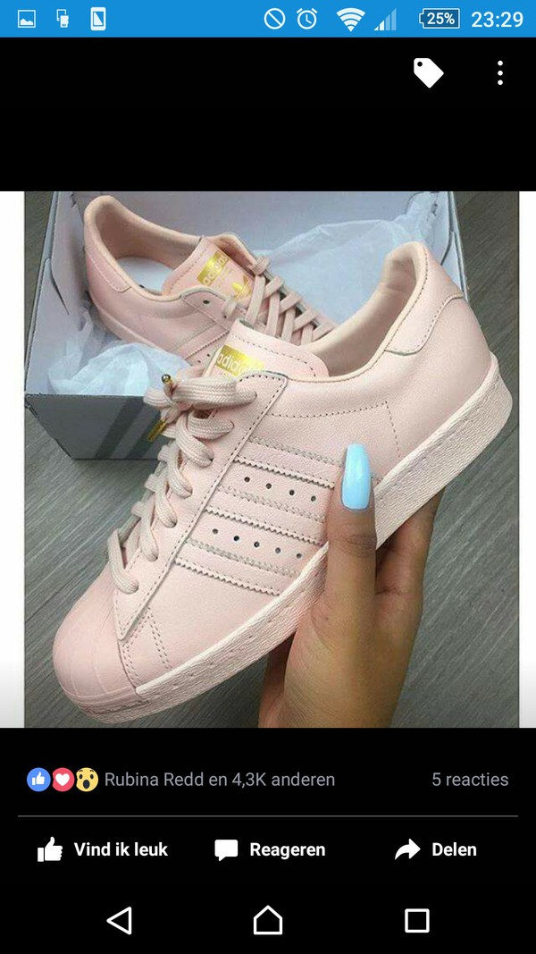 Adidas Superstar Supercolor Beige