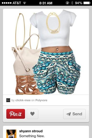 crop tops white dress blue skirt teal gold girly