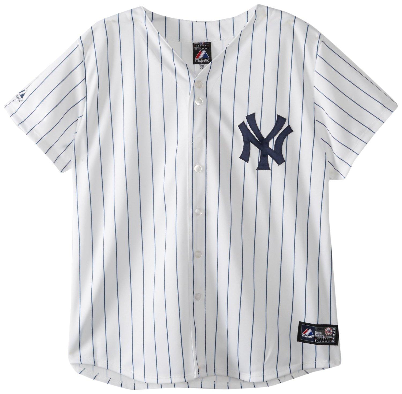 Amazon.com   MLB New York Yankees Home Replica Baseball ... 08b59f97966