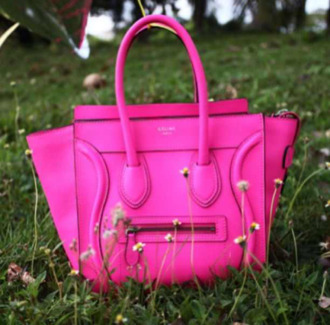 bag hot pink pink celine