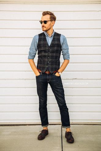 stay classic jeans jacket shirt shoes sunglasses belt jewels