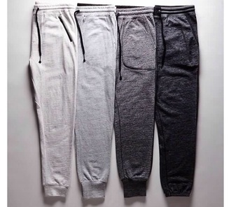pants sweatpants grey gray comfy soft light