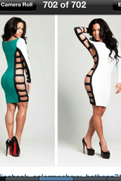 dress,black dress,bodycon,sexy,clubwear,cut-out dress