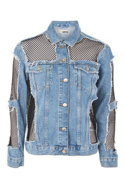 Topshop jacket denim oversized