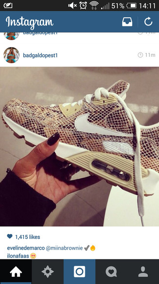snake print shoes snake nike air nike air max 1 nike air max 90 air max sneakers womens mens shoes
