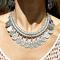 Boho style coin necklace|disheefashion