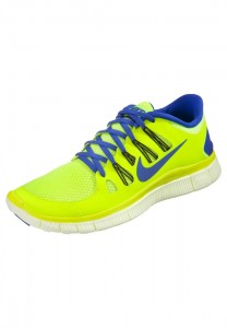Black Friday US Outlet Men's Nike Performance Free 5.0 Trainers Neon Blue