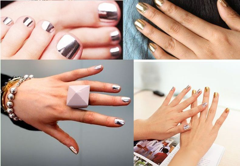Free Shipping 10Pack/LOT NEW Fashion Nail Sticker MINX Gold and ...