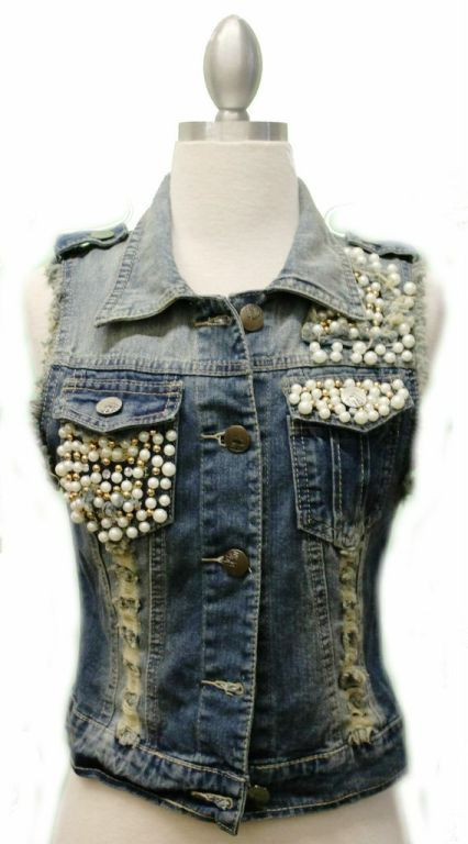 Punk Princess Jean Vest | Affordable Junior Clothing & Plus Sized Dresses | Shimmer