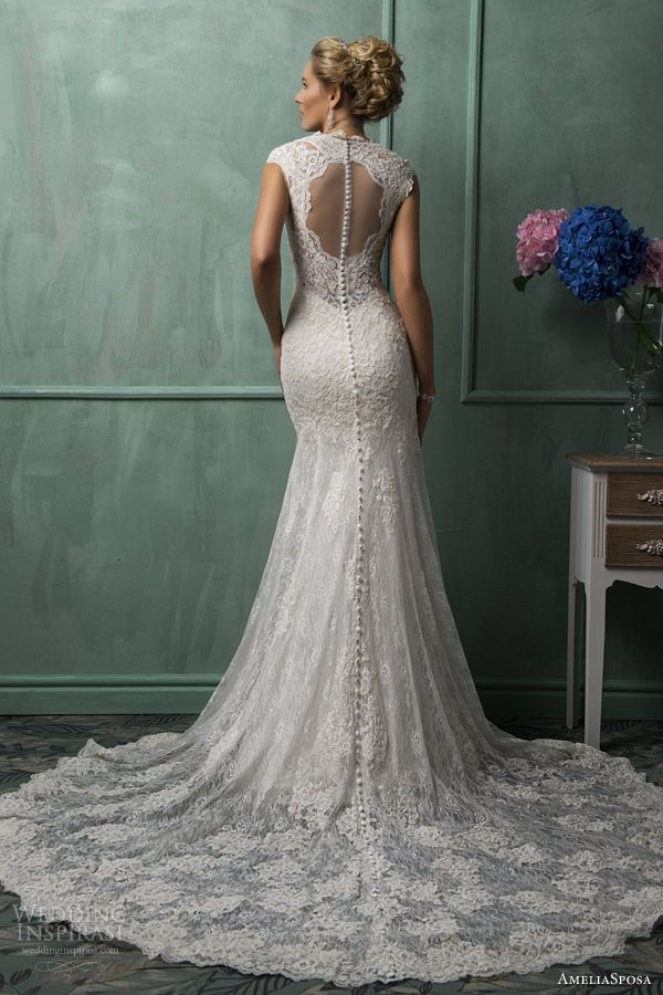 dress lace white wedding