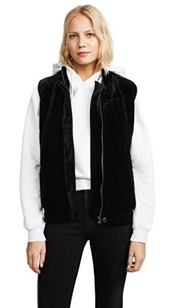 BB Dakota vest velvet black jacket