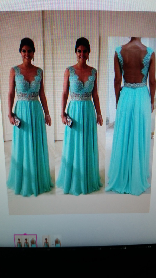 chiffon dress lace dress a line prom gowns