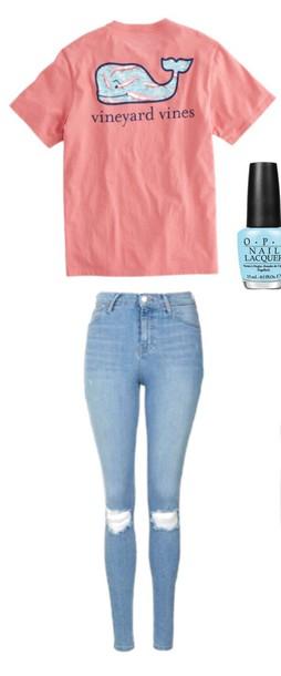 shirt pink t-shirt