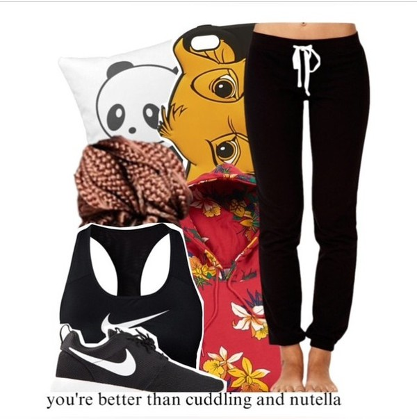 jacket lion king sweatpants panda
