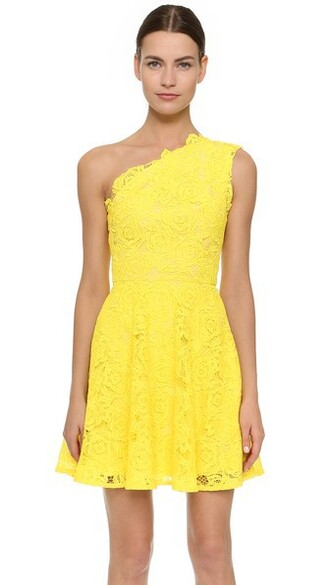 dress one shoulder dress