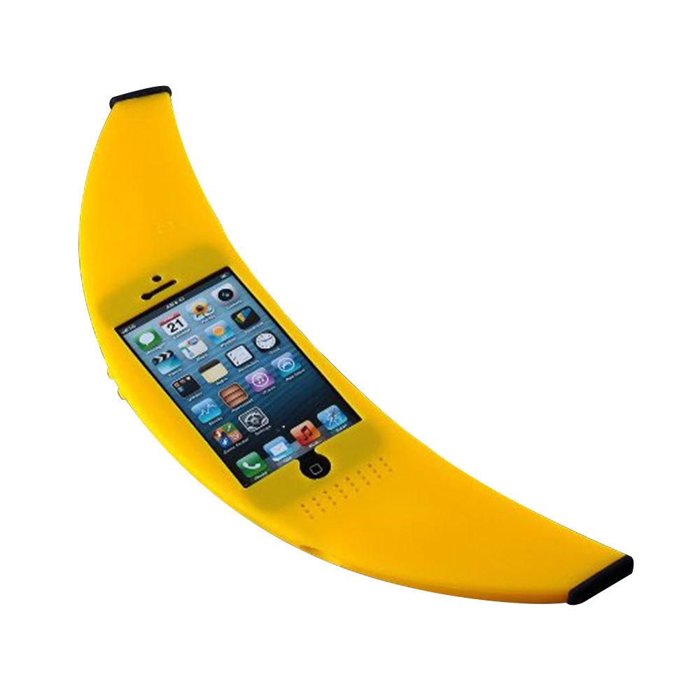 Grxjy51000019 Celebrity Yellow Banana Shape Phone Shell