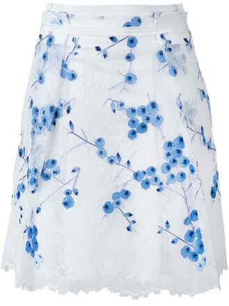 skirt lace white