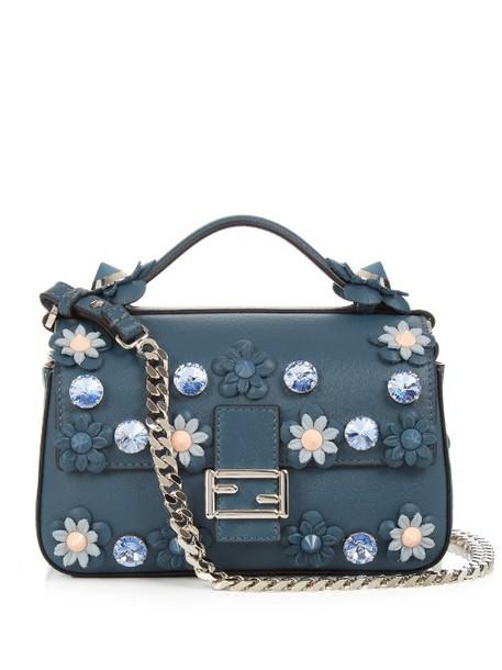 Fendi cross bag blue