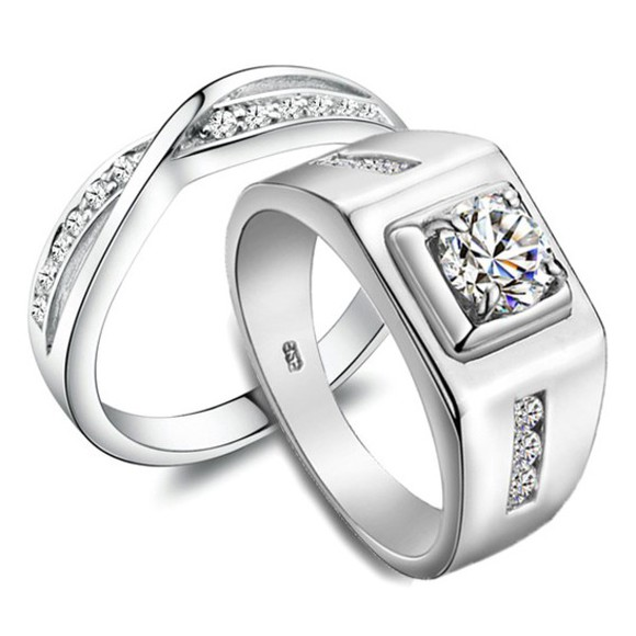jewels his and hers rings gullei.com matching rings anniversary rings set couples rings set couples jewelry engraved rings engagement ring couples christmas gifts matching wedding bands personalized rings set valentines gifts for couples diamond wedding rings sterling silver rings