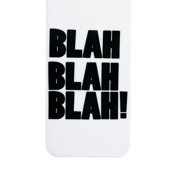 ASOS iPhone 5 Case with Blah Blah Slogan on Wanelo