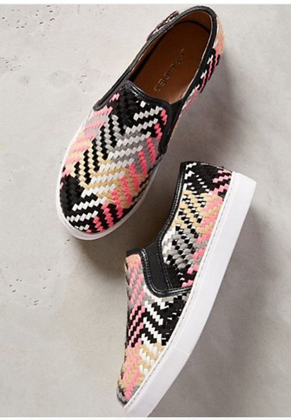 shoes colorful shoes canvas shoes slip on shoes pink shoes pattern shoes colorful slip on shoes