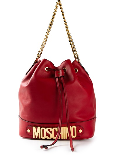 Moschino Bucket Bag -  - Farfetch.com