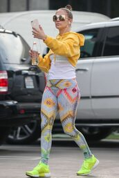 pants,workout,workout leggings,jennifer lopez,celebrity,hoodie
