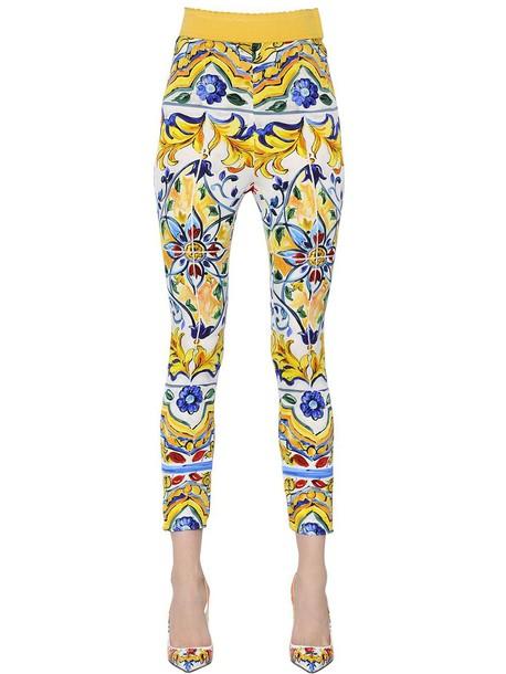 Dolce & Gabbana pants silk