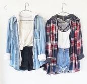 dress,jacket,hoodie,flannel patter,hoodie coat,flannel
