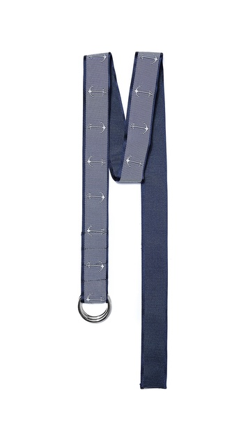 Thom Browne Anchor Ribbon Belt | EAST DANE