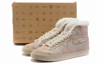 shoes nike blazer high sneakers
