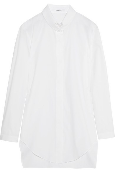 Carven | Cotton shirt | NET-A-PORTER.COM