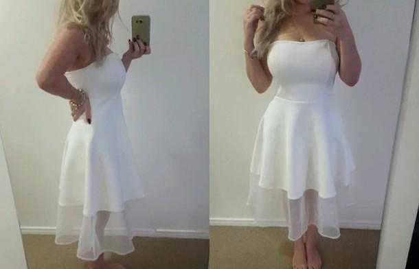 dress white party dress white dress