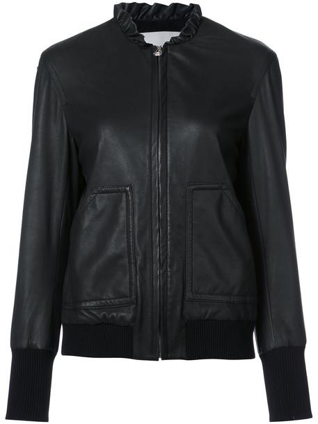DEREK LAM 10 CROSBY jacket bomber jacket ruffle women black
