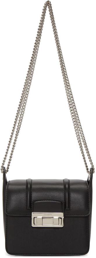 mini bag chain bag black