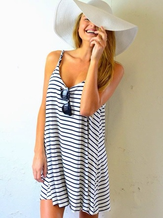 dress stripes casual