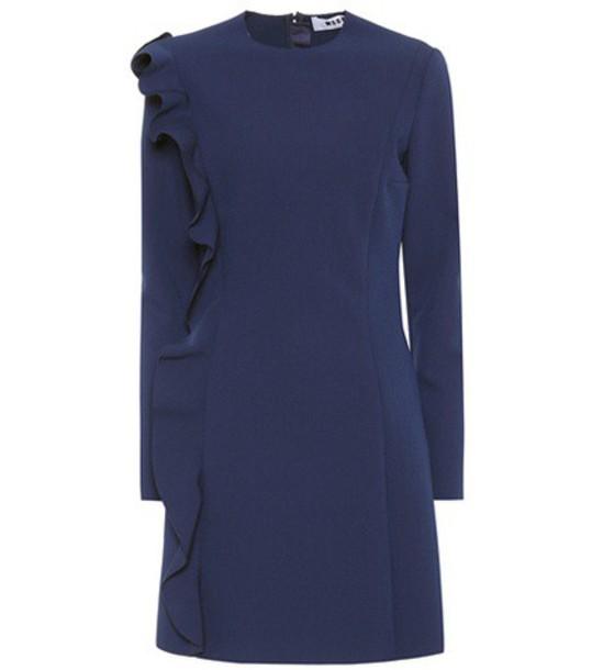 MSGM blue dress