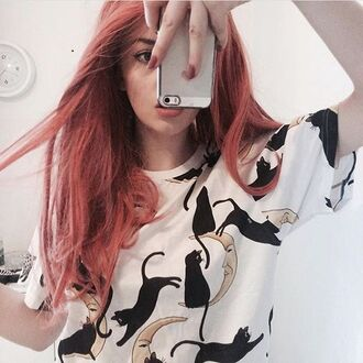 t-shirt yeah bunny casts cats moon