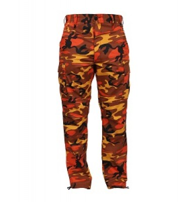 Buy Orange Camo Pants at Army Surplus World | Army Surplus World