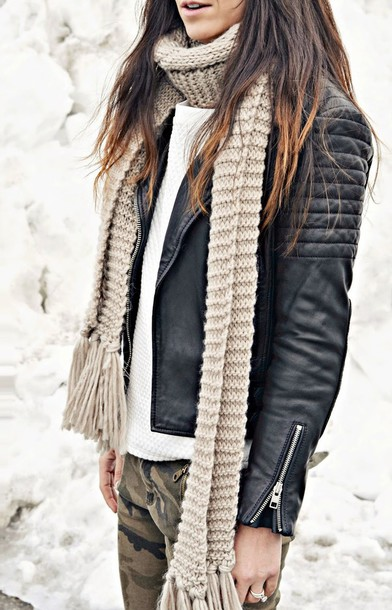 quality rivets jacket sweater pants shoes scarf