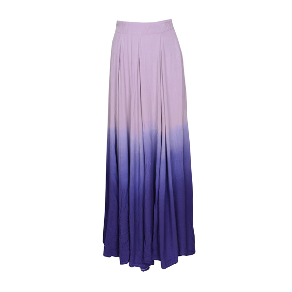 Waisted skirts fashion gradient color long dress · fe clothing · online store powered by storenvy