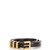 3 Passants leather belt